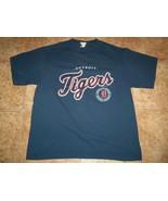 Vtg  Blue 2004 Lee Sport MLB Detroit Tigers Baseball Cotton T Shirt  Adu... - $19.79