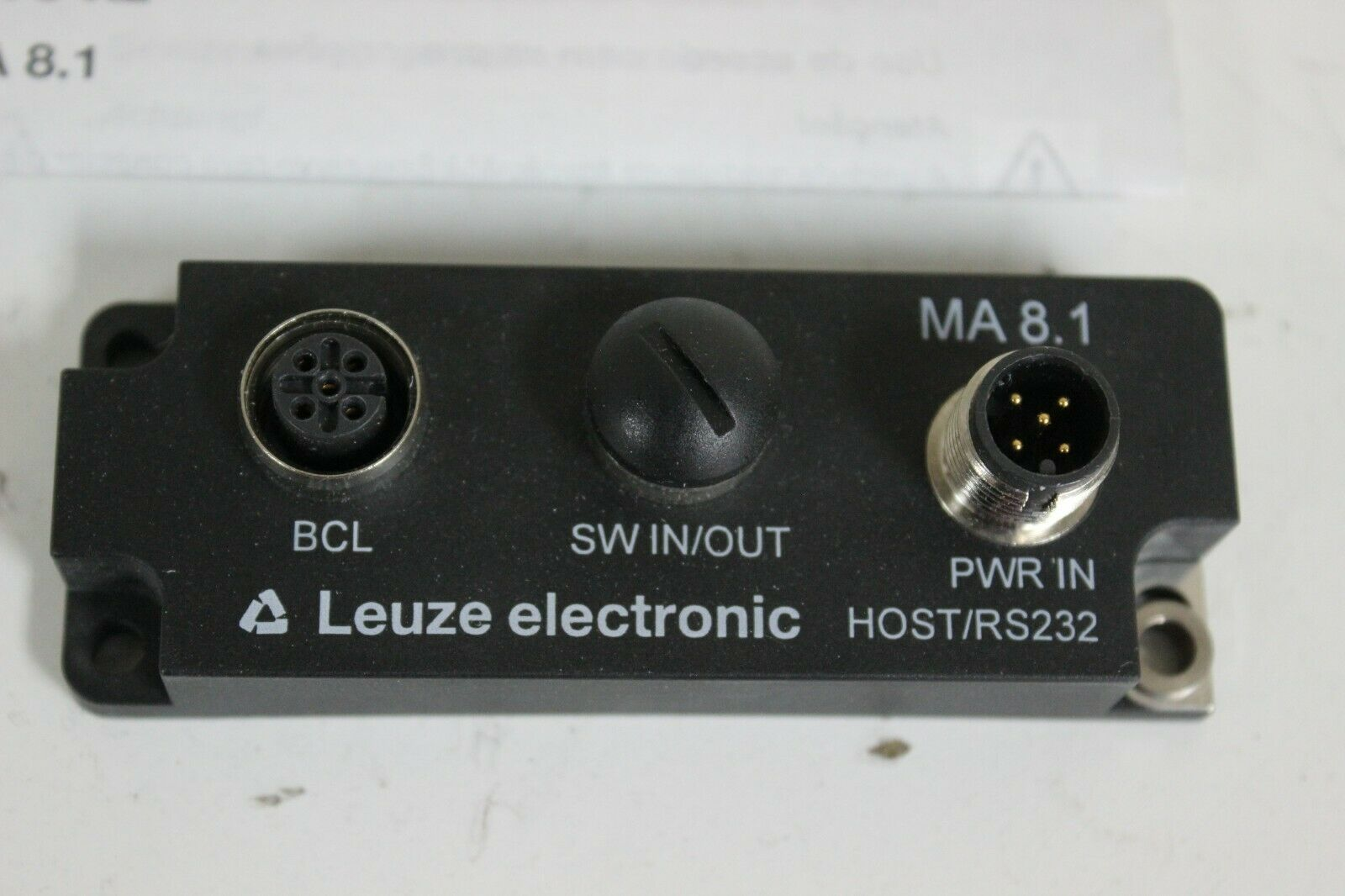 Leuze electronic MA 8.1 Modular connection unit  50101699 New