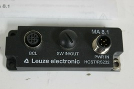 Leuze electronic MA 8.1 Modular connection unit  50101699 New image 1