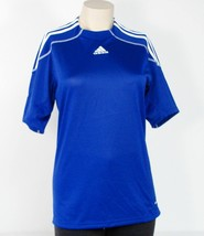 Adidas Formotion Clima365 Blue Short Sleeve Soccer Jersey Womans Small S... - $37.12