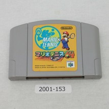 Nintendo N64 Mario Tennis 64 Ntsc-J Actif Japon 2001-153 - $8.02