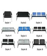 Office Reception Waiting Room Chair Bank Guest Salon Barber 8 Style TkPe... - $388.08
