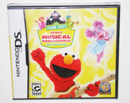 Elmo's Musical Monsterpiece Nintendo DS Game Sesame Street - $4.94