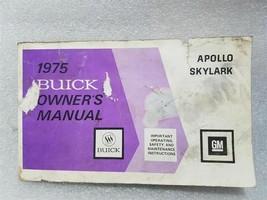 Buick Sylark Apollo 1975 Owners Manual 14757 - $19.75