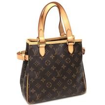 AUTHENTIC LOUIS VUITTON Monogram Batignolles Tote Bag Hand Bag Brown M51156 - $780.00