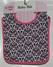 Baby Ganz Girl Pink And Black Feather Like Print Matching Gift Set image 6