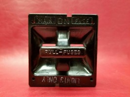Square D Main Fuse Pull Out Fuse Holder 30-60 Amp Switch Vintage 120/240 - $28.17