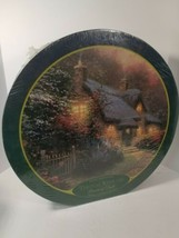 "Thomas Kinkade Glory Of Evening Jigsaw Puzzle 750 piece 24"" Round Puzzle - $14.80"
