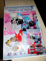 Transformers 4-6-18 Dairycon Exclusive WIPES w/Poster & Ducky Pirates Of... - $69.99