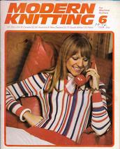 Modern Knitting for Machine Knitters Jun 1974 Magazine UK Dolls Dresses ... - $9.99