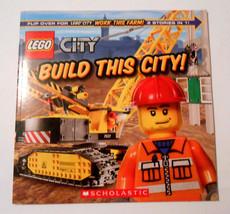 Lego city build this farm childrens book - $7.82