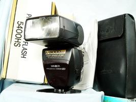 Minolta Program 5400HS High Speed Flash Gun Cased , Boxed + Stand + Inst - $45.00