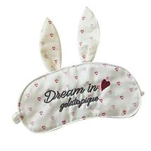 Lovely Eyeshade Sleep Eye Mask Soft Eye Mask Great Gift Shade Cover For Sleep
