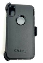 OtterBox Defender Series Screenless Case and Holster for iPhone XS and X - Black - $24.18