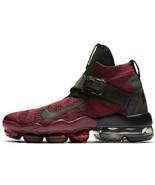 NIKE AIR VAPORMAX PREMIER FLYKNIT RED/BLACK SIZE 11 BRAND NEW $225 (AO32... - $149.55
