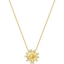 Authentic Swarovski Olive Collection Gold Pendant - $66.57