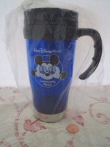 Disney Parks Cast Member Security Team Travel Mug Cup Mickey Community W... - $8.83
