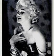 Vintage Marilyn Monroe Home Decor Black And White Ink Jet Canvas Wall Painting  image 3