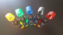 JET TORCH LIGHTER REFILLABLE WITH LED LIGHT - 1x w/RANDOM COLOR AND DESIGN image 7