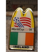 McDonalds Ireland World Cup USA 1994 94 Soccer Collectible Pinback Pin B... - $8.39