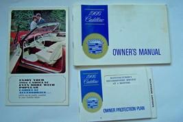 1966 Cadillac Owners Manual Eldorado Fleetwood Devil used original - $69.29