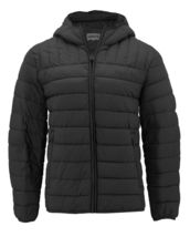 Levi's Men's Puffer Embroidered Logo Hood Quilted Packable Zipper Red Tab Jacket image 5