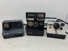 Vintage Polaroid Lot - Sun 660 OneStep Impulse Instant Cameras - All Unt... - $77.39