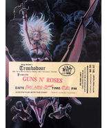 Guns N' Roses Troubadour November circa 1986 - Hollywood CA. - $666.00