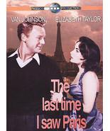 The Last Time I Saw Paris DVD2004 UPC 0090328900755 Elizabeth Taylor Van... - $5.93
