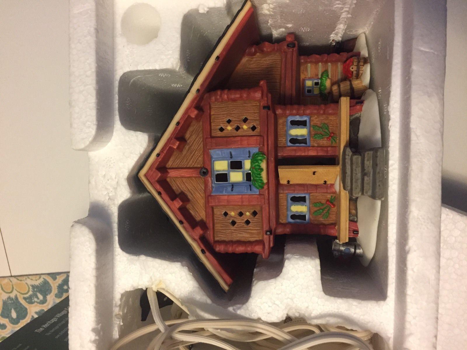 Department 56 Alpine Village Series Heidi's Grandfather's House MINT in Box