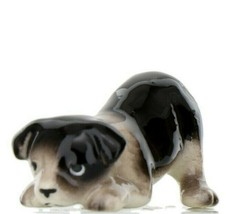 Hagen Renaker Dog Border Collie Pup Ceramic Figurine