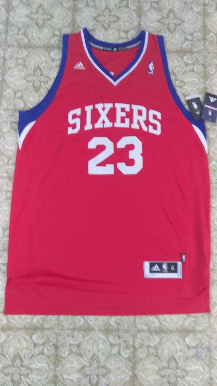 Primary image for Lou Williams #23 Red Philadelphia 76ers Nba Adidas Jersey Sz XL Swingman