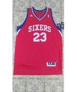 Lou Williams #23 Red Philadelphia 76ers Nba Adidas Jersey Sz XL Swingman - $100.00