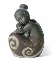Lladro African Girl Porcelain Sculpture - $475.99