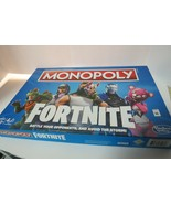 Monopoly Board Game Fortnite Edition Parker Brothers Hasbro Complete Ag... - $14.85