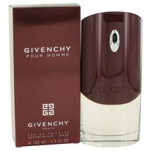 Givenchy Pour Homme Cologne 3.3 Oz Eau De Toilette Spray image 4