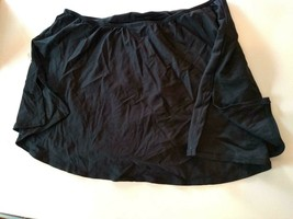 COCO Reef Plus Size Black Skirted Bottom Size 1X image 2