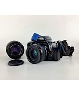 Minolta Maxxum 3xi Film Camera AF Power Zoom 35-80mm Japan Sigma UC Zoom... - $24.31