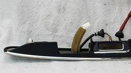 11-15 Nissan Rogue Chrome Tailgate Finish Garnish Panel Handle w/ 360° Camera image 7