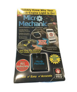 Micro Mechanic Diagnostic Tool with App - Instant Results SCNR - $27.95