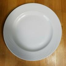 Steelite Distinction Spyro Round Plate Salad Plate 6 1/2 Inch White Swirl  - $7.91