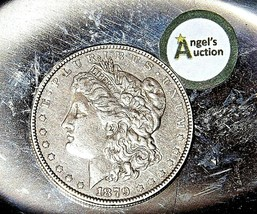 1879 Morgan Silver Dollar  AA19-CND6030