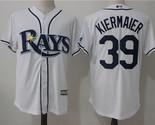 Tampa Bay Rays #39 Kevin Kiermaier stitched Baseball Jersey style 1