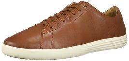 Cole Haan Men's Grand Crosscourt II Sneaker Tan Leather Burnished 11.5 M US - $81.85