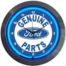 "Ford Genuine Parts Licensed Neon Clock 15""x15"" - $69.00"
