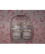 "Russ Berrie Name Porcelain Baby Girl Booties Ornament ""Bailey"" Birth Inf... - $5.92"