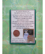 """Female Teacher"" Shiny Lucky Penny Magnetic or ... - $4.00"