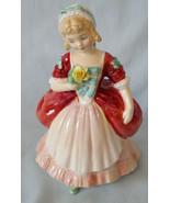 "Royal Doulton Pretty Ladies Figurine HN2107 Valerie 5"" - $25.63"