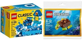 Lego Creator Turtles Whales Trains & More Polybag 30476 Happy Turtle + Classic B - $29.69
