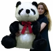 Big Plush Gigante Peluche Panda 86.4cm Morbido Orso, Fatto in USA America - $239.25